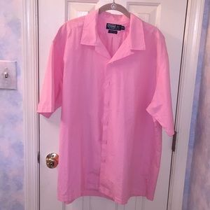 Polo Ralph Lauren Cotton Shirt XL Pink